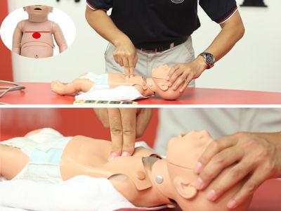 小孩的心肺复苏正确操作手法