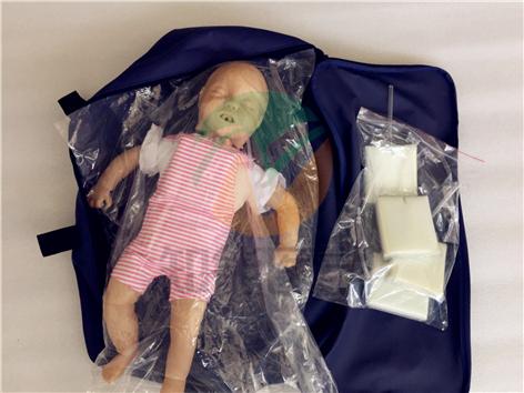 知能医学模型-高级婴儿气道梗塞心肺复苏急救模型 BIX-J140