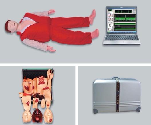 高级心肺复苏、创伤模拟人(计算机控制、二合一组合)