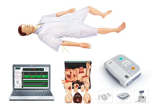 知能医学模型高级综合急救护理训练模拟人 BIX/ALS1200