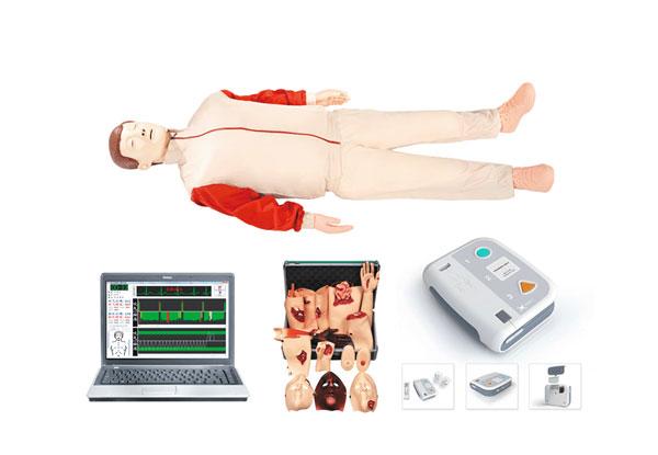 知能医学模型高级心肺复苏模拟人(AED除颤模拟人、创伤模拟人)