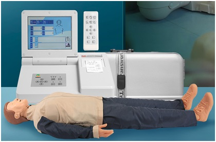 知能医学模型高级电脑心肺复苏模拟人(彩色液晶屏) BIX/CPR690
