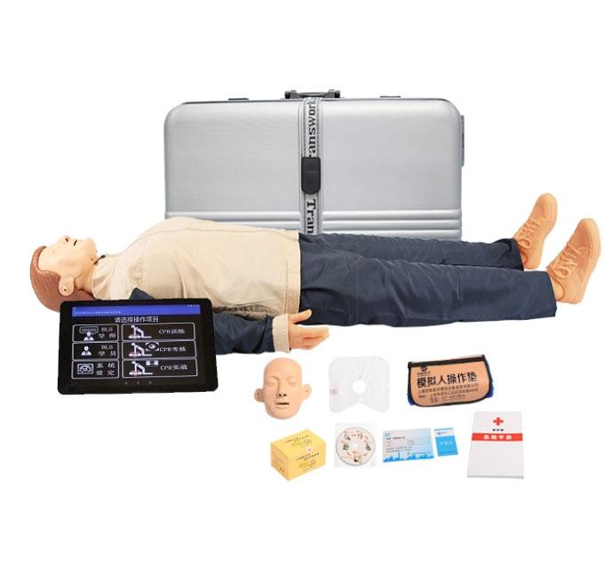知能医学高级平板电脑心肺复苏模拟人(无线版)