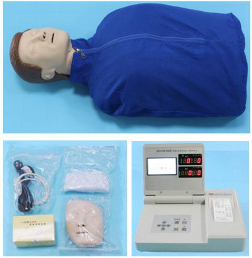 知能医学模型-液晶显示高级电脑心肺复苏模拟人(半身) BIX/CPR590-1