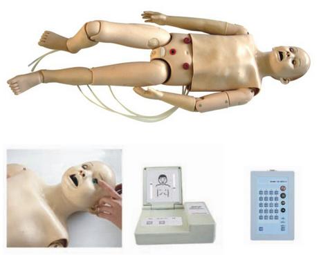 全功能五岁儿童高级急救护理模拟人 BIX-FT334/434/534