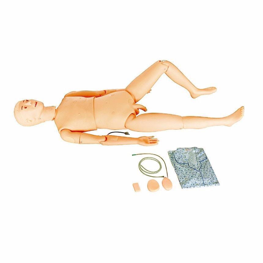 新型多功能护理实习训练模拟人(男性)