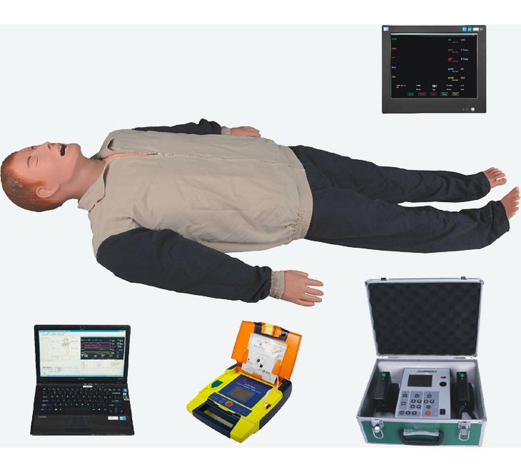 知能医学高智能数字化成人综合急救技能训练系统(ACLS高级生命支持、计算机控制)